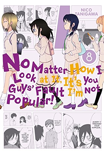No Matter How I Look at It, It's You Guys' Fault I'm Not Popular!, Vol. 8 por Nico Tanigawa