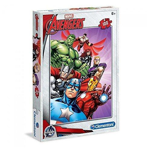 Marvel Clementoni - Disney - Puzzle 100 Stück - Avengers (450 Stück Puzzles)