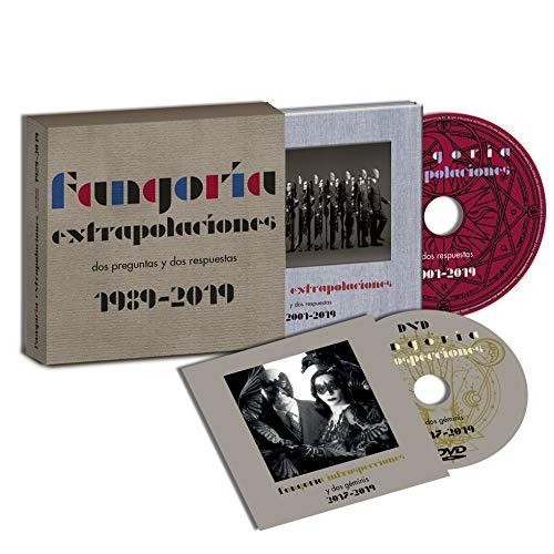 Fangoria - Extrapolaciones y dos respuestas 2001-2019 (CD Disco Libro+Box+DVD) Edición Firmada