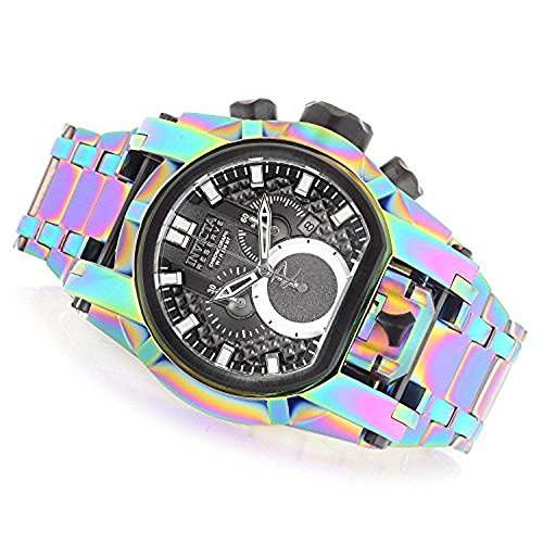 Invicta Reserve uomo 52 mm Bolt Zeus Magnum Swiss Quartz Dual Movement iridescente orologio da donna