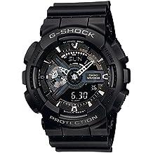 Casio G-Shock – Reloj Hombre Analógico/Digital con Correa de Resina – GA-110-1BER