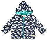 loud + proud Unisex Baby Jacke Outdoorjacke, Blau (Ultramarin) Ul), 80 (74/80)
