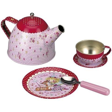 Spiegelburg 21121 Tee-Set im Korb Prinzessin Lillifee