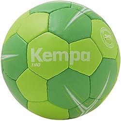 KEMPA - TIRO - Ballon Handball - Toucher Doux - Ballon de Match et d'Entrainement - vert fluo/vert