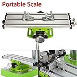 Mesa fresadora Fresado de trabajo mesa multifunción, fresadora compuesta para la perforación y moler