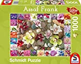 Schmidt Spiele Puzzle 59632 Assaf Frank, Orchideen, 1000 Teile Puzzle, bunt