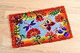 Vervaco PN-0145323 Knüpfteppich Dekoratieve Blumen