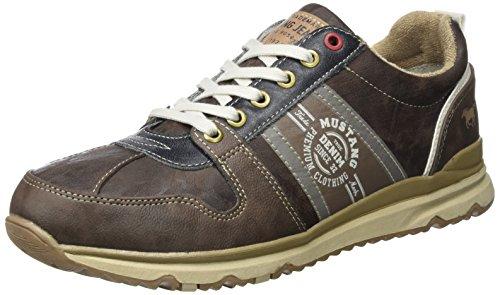 Mustang Herren 4095-302-32 Sneaker, Braun (Dunkelbraun), 44 EU