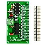 chunzehui 2048Hz ~ 1/2048hz extremadamente/Super onda cuadrada de baja frecuencia oscilador memoria, onda cuadrada generador de señales. Total 22puertos de salida, al mismo tiempo puede salida 22frecuencias.