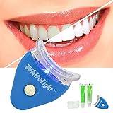 Kytaste Whitening System Tooth Polisher Whitener Stain Remover with LED Light Luma Smile