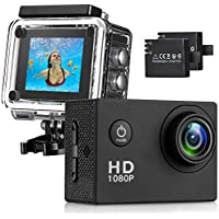 Busuo 170 Wide Angle Lens Full HD 2 inch LCD 30m Waterproof Screen Action Camera