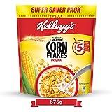 Kellogg's Corn Flakes Original, Breakfast Cereal, 875gms Pack
