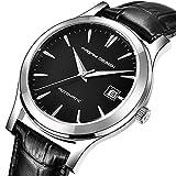 Pagani Design Mens Automatic Watch Luxus Business Manipulator Uhr mit Alligator Lederriemen