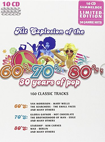 Hit Explosion of the 60's / 70's /80's:  30 Years of Pop - 160 Classic Tracks (Limited Edition)
