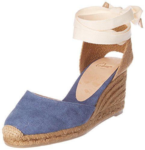 Castaner Carina 6 325, Espadrilles femme Bleu