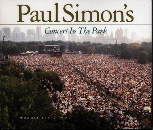 Concert in the Park Live edition by Paul Simon (1991) Audio CD