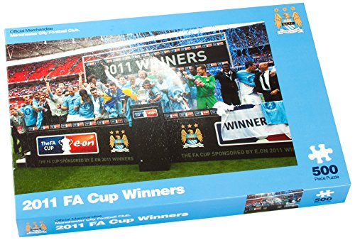 Paul Lamond Manchester City 2011 FA Cup Winners Puzzle