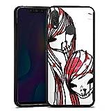 DeinDesign Huawei P Smart Plus Silikon Hülle Case Schutzhülle Deadhoxtongirls Gloria Bloody