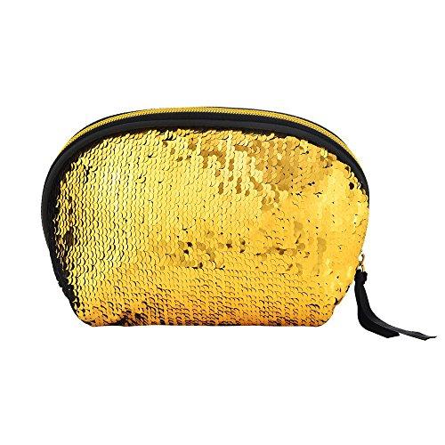 Kosmetiktasche Geldbörse,bestshope Frauen Mädchen Kleine Geldbeutel Münzbörse Portemonnaie Reißverschluss Brieftasche Muscheltasche Speicher Mäppchen Abendgesellschafttasche ()