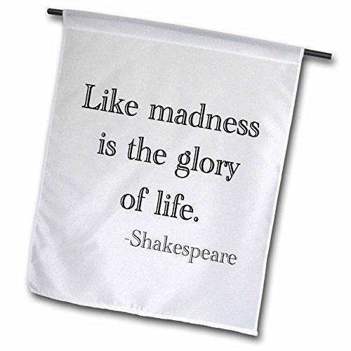 Bild Herrlichkeit (3drose FL _ 171932_ 1wie Madness ist die Herrlichkeit des Lebens. Shakespeare Garten Flagge, 12von 18)