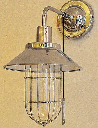 mini luce da parete 1 luce birdcage vintage figura del