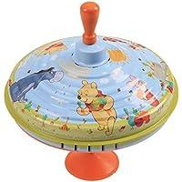 Bolz 52313 - Brummkreisel Winnie the Pooh, Ø 19 cm, Blech Schwungkreisel, Musikkreisel erzeugt mehrstimmige Töne, Spielzeugkreisel für Kinder ab 1,5 Jahre, Blechkreisel aus Metall mit Disney's Pooh