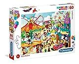 Clementoni-Clementoni-26991-Supercolor Collection-Le Parc d'attractions-60 pièces, 26991, Multicolore...