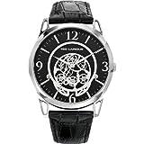Ted Lapidus - 5127301 - Montre Homme - Quartz Analogique - Cadran - Bracelet Cuir Noir