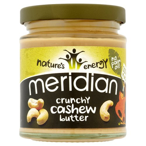 Meridian Crunchy Cashew Butter 100 Percentage Nuts, 170g Test