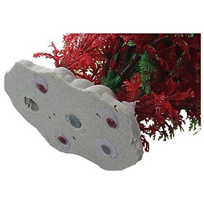 SODIAL(R) Artificial Fish Tank Water Tropical Plastic Aquarium Plants Ornament Green Decor 4