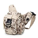 Shuzhen,Outdoor-Fototaschen mit Schultergurten taktische Outdoor-Sporttaschen(color:Wüste digital,size:20 Zoll)