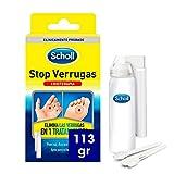 Scholl, Tratamiento Stop Verrugas Comunes y Plantares, por método de congelación, 113 gr