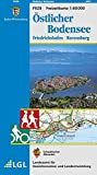 Östlicher Bodensee: Friedrichshafen Ravensburg -  Karte des Schwäbischen Albvereins (Freizeitkarten 1:50000)