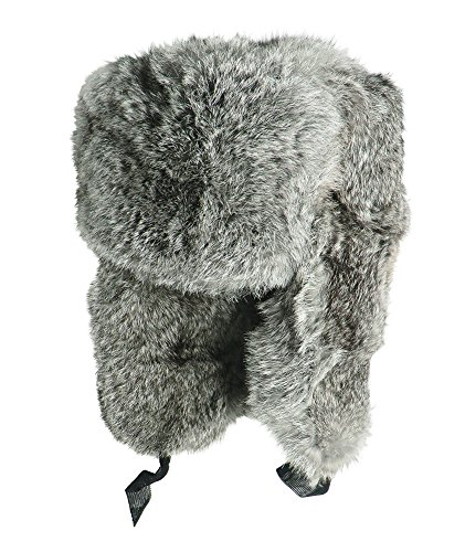 CUCUBA Original Russian Ushanka for Winter Cold Color Grey – Gift IDEA (58  Size L (EU)) - Buy Online in Oman.  8c0ee7c37d3