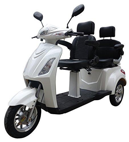 """Senioren Mobil""""Two"""", Elektroroller, E-Scooter, Elektrorollstuhl Weiß"""