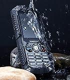 IceFox (TM) Dual Sim Outdoor Handy,2,4 Zoll Display,IP68 Wasserdicht,Stoßfest, Rugged Handy Ohne Vertrag mit Lautem Lautsprecher und Fahrradlicht - 2