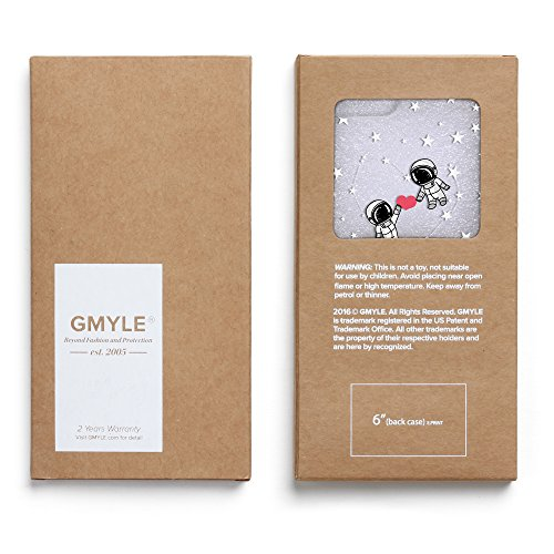 iPhone 7 Hülle (4,7 Zoll), GMYLE Muster Series Weiche TPU Rahmen + Hart PC Rückdeckel Hülle Muster Schutzhülle für iPhone 7 (Valentine Muster III) Valentine Muster V