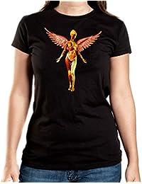 Utero T-Shirt Girls Black Certified Freak