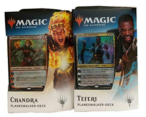 Wizards Of The Coast Dominaria - Planeswalker Deck deutsch - MtG Magic the Gathering, Deck:Deck Set (Teferi + Chandra)