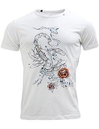 Replay Scorpion Rose T-Shirt - M3541 White L