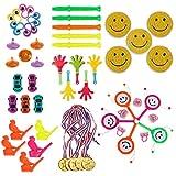 Goldge 50 pcs Spielzeuge Set, Spielzeug Sortiment Klein Pinata,mitgebsel Mix,Pinata spielzeugfür Kinder Geburtstagsparty