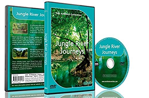 Relaxing Rainforest DVD - Jungle River Journeys with Nature