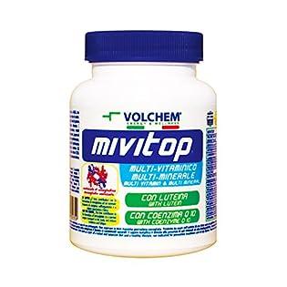 Volchem Mivitop / Integratore Multivitaminico Multiminerale Con Coenzima Q10 / 30 Compresse - 51jrnaa3uVL. SS315