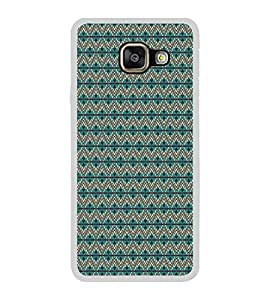 ifasho Animated Pattern of Chevron Arrows royal style Back Case Cover for Samsung Galaxy A7 (2016)