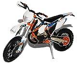 alles-meine.de GmbH K-T-M 300 EXC Six Days Argentina Weiss 2015 Enduro 1/12 K-T-M Modell Motorrad mit individiuellem Wunschkennzeichen
