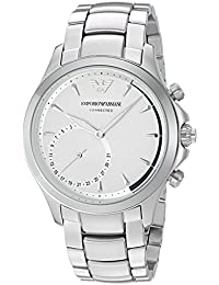 Emporio Armani Hybrid Watch Analog Silver Dial Men's Watch - ART3011