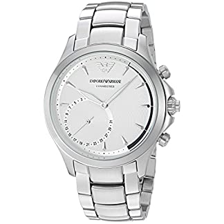 Emporio Armani Hybrid Watch Analog Silver Dial Men's Watch – ART3011