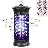 Lukasa UV Insektenvernichter, Elektrische Mückenfalle Moskito Killer Insektenfalle Mückenfalle für 30m² Innen Aussen