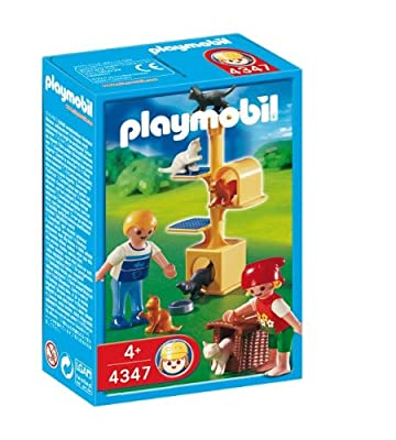 Playmobil 626631 - Veterinaria Árbol Con Gatos de Playmobil