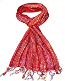 Women's Scarf Red - Lovarzi Scarves for Women - Perfect for summer and winter - Ladies Pashminas